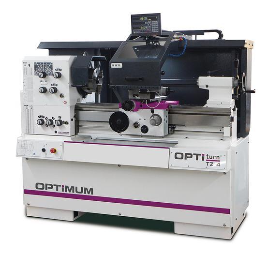 2020 Optimum OPTIturn TZ4  L*Z Drehmaschine mit Digitalanzeige