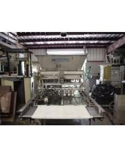 Used USED HINDS-BOCK MULTI-LANE MUFFIN BATTER DEPOSITING LINE