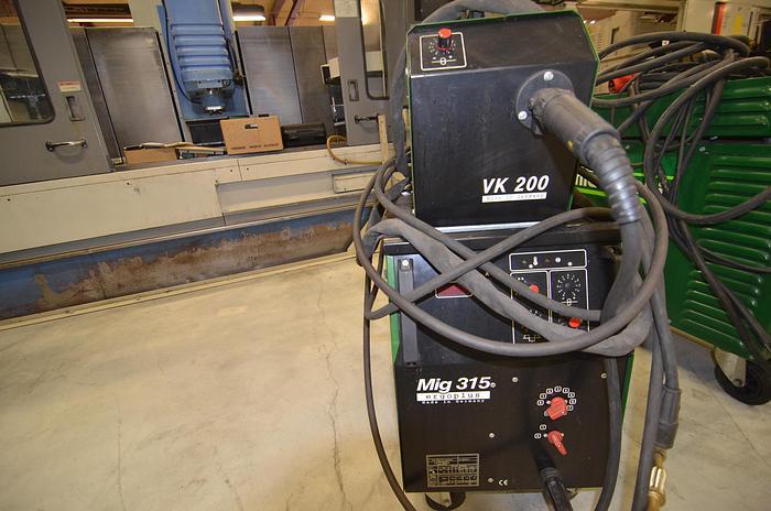 D53 - WELDING MACHINE - RANDBACK  MIG 315