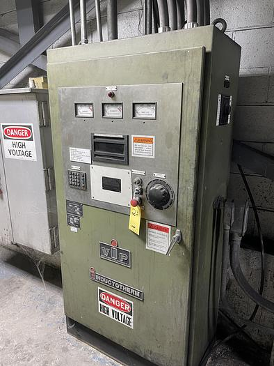 Used 1999 INDUCTOTHERM 7000 KW MEDIUM FREQUENCY FURNACE SYSTEM