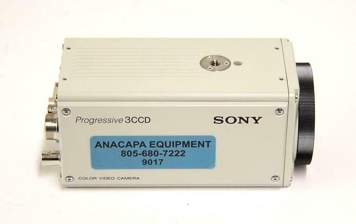 Used Sony DXC-9100P Progressive 3CCD Color Video Camera 12V FOR PARTS (9017)R