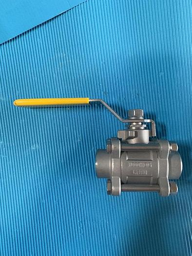 Used Modentic Stainless Steel Ball Valve CF8M