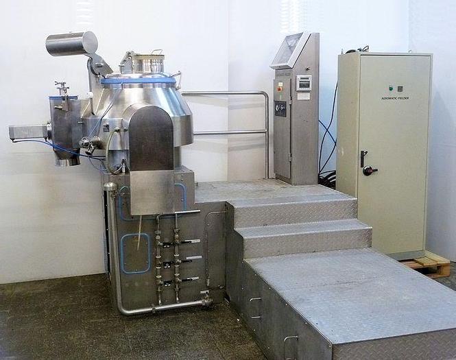 Used A 14911 E - Mixer / Granulator AEROMATIC FIELDER PMA 300