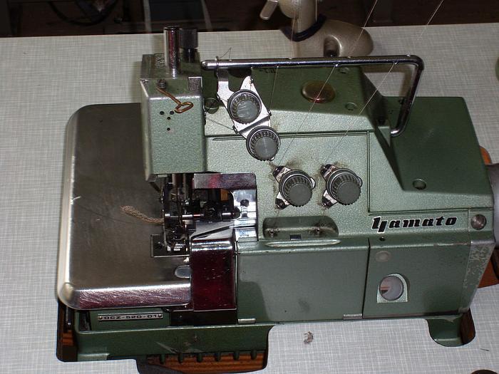Gebraucht Overlockmaschine YAMATO  DCZ-520-D1 2N/4F