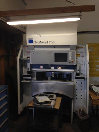 2012 40 Ton Trumpf TruBend 7036 CNC Press Brake