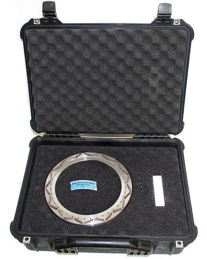 Used JSP 24-07 Mesh4000 Grid for Si, GaAs, inP VLF Fine Grinding Wheel ø250mm (7757)W