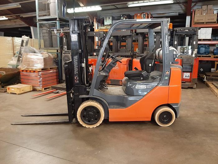 Used 2015 Toyota 8FGCU25 – 5000 lb. Forklift