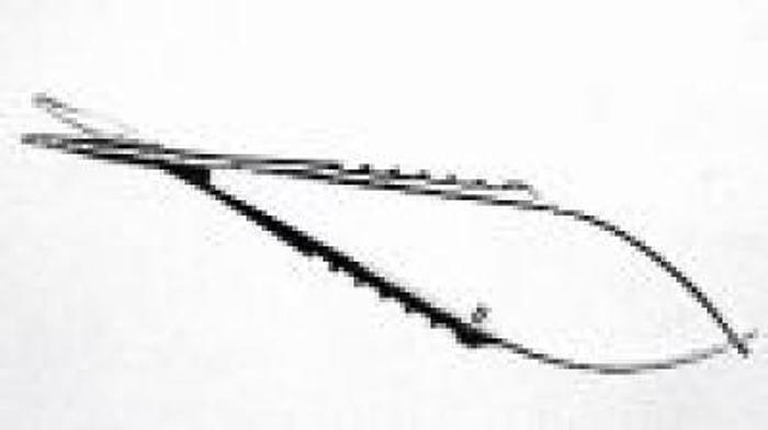 Ophthalmic Scissor Tenotomy Westcott Curved Blunt Tip 115mm DIXEY D682
