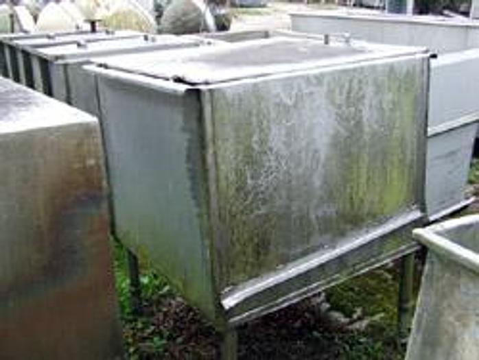 Używane Zbiornik na nogach z pokrywą
