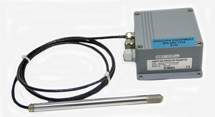 Used Vaisala HMP235 A1A0A1AA12A1A3B Humidity & Temperature Transmitter & Probe (8745)