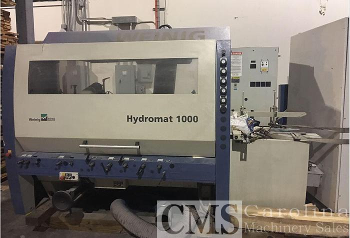 Used 2007 Weinig Hydromat 1000 Moulder