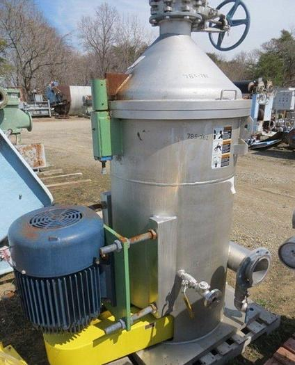 Used VOITH    MDL 10VS VERTICAL PRESSURE SCREEN S/S