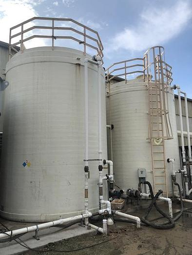 2003 DEI Systems 12,300 Gallon Fiberglass Storage Tanks