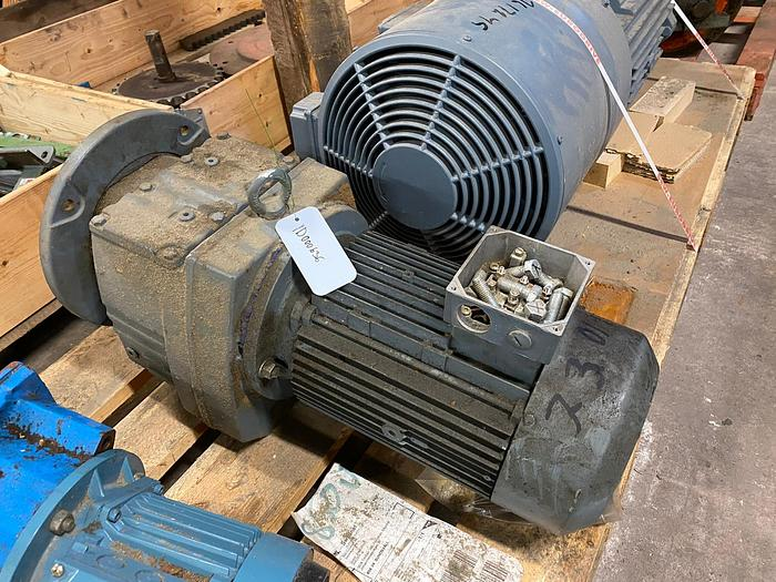 Used 5,5 kW, SEW-Eurodrive, Electric motor with reducer