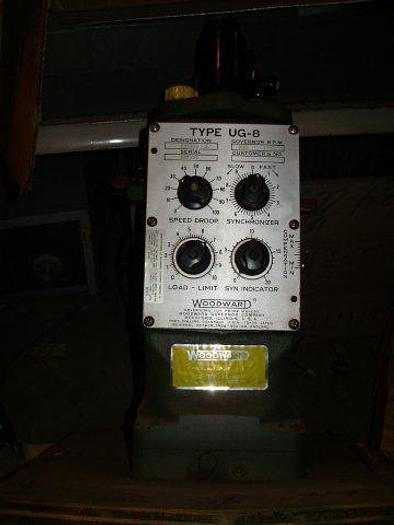 Woodward Governor Type UG-8; Dial Configuration