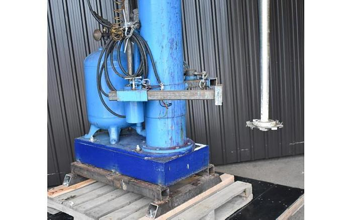 USED BOWERS DISPERSER, MODEL 720, 15 HP