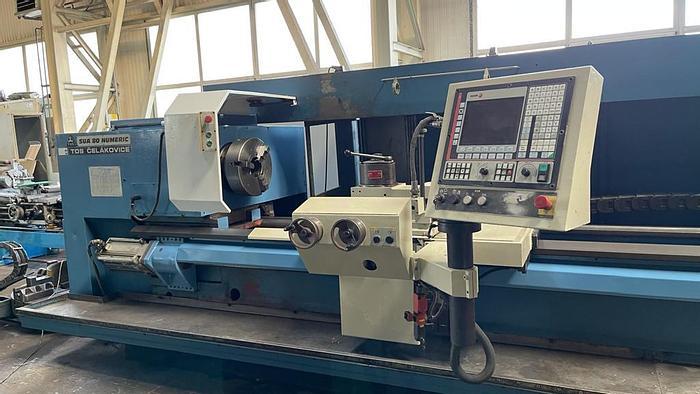 Used 2000 Tokarka CNC TOS SUA 80 x 3500