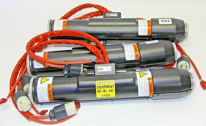 Used Inficon AG 0190-23501, 17.75-KF 40/50, Heated Weldment 208V Lot of 3 (1122)