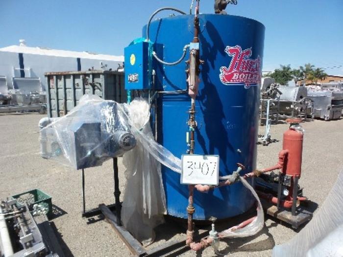 Hurst 50 Hp. Vertical Steam Boiler #3407