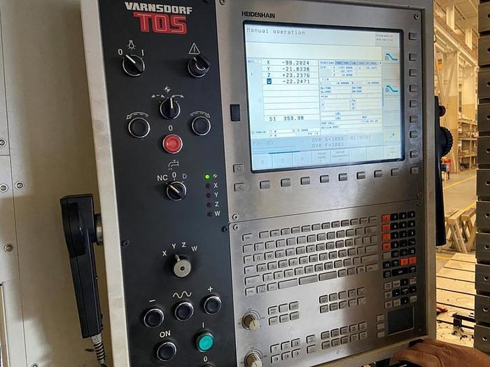 "196""X, 118""Y, 39""Z, TOS, WRD-130Q, 2015, CNC FLOOR TYPE HORIZONTAL BORING MILL"