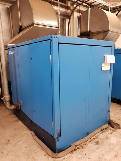 Used 2005 Compair L110 - 10A Rotary screw air compressor
