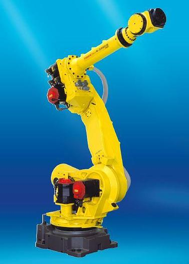 Used FANUC R2000iB/165F 6 AXIS ROBOT WITH R30iA CONTROLLER