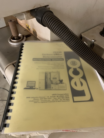 LECO CS-230 CARBON AND SULFUR DETERMINATOR