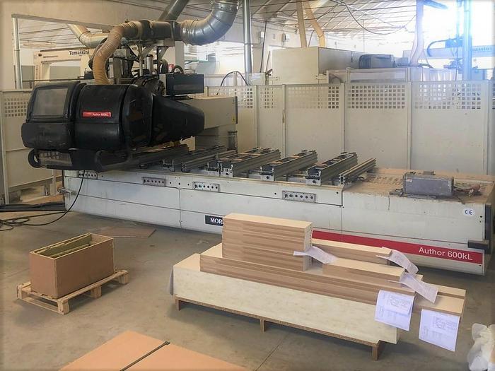 MBF004 Morbidelli Author 600 KL centro di lavoro