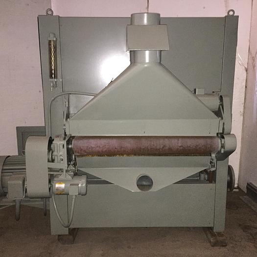 """Used 42"""" Ramco Belt Grinder; 12"""" Part Thickness; Single Head"""