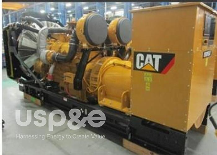 Used 1 MW 2021 Used Caterpillar C32 Diesel Generator Sets