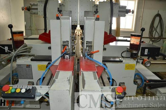2017 Koch Throughfeed Drilling Machine
