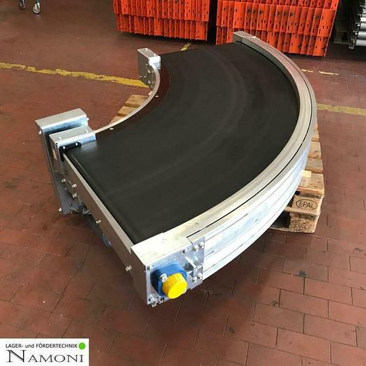 Gebraucht TRANSNORM Gurtkurve/ Förderband/ Gurtförderer Kurve 90° Transnorm Typ 1600-105 Belt