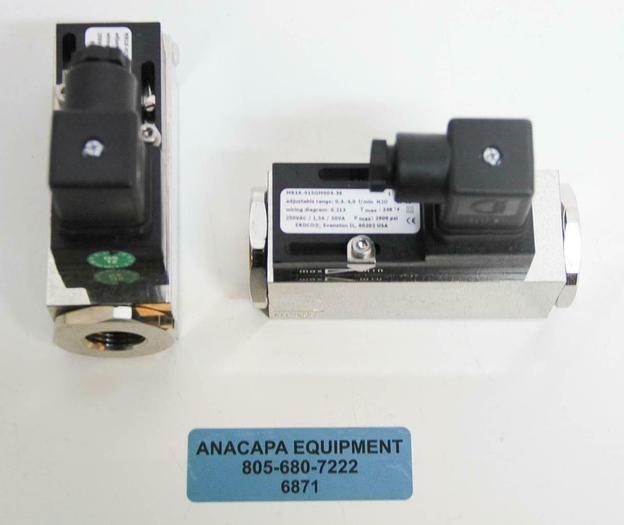 Used Honsberg Flow Switch MR1K-015GM004-36 LOT OF 2 (6871)