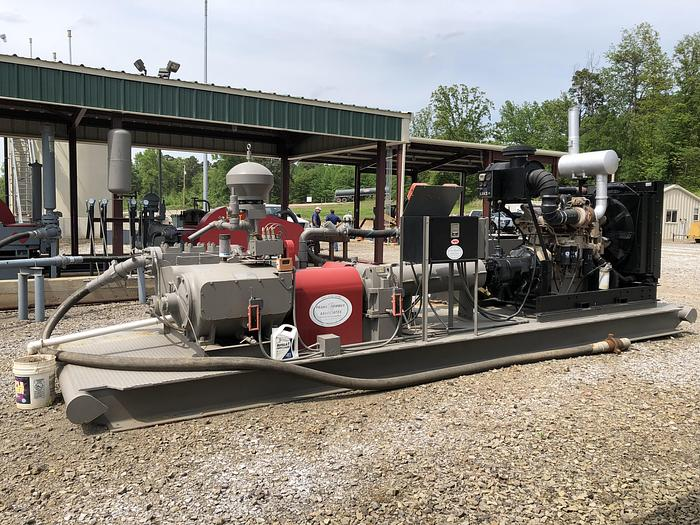 Used National 308T-7 triplex pump