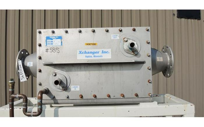 USED HEAT EXCHANGER, AIR/GAS, STAINLESS STEEL