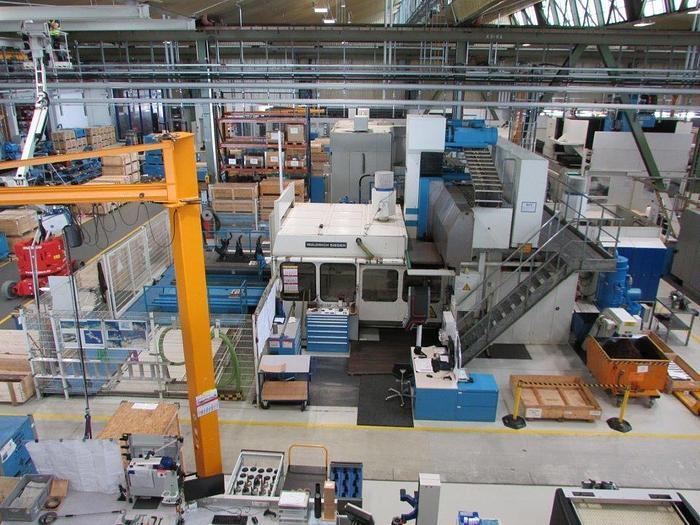Usata FRESATRICE A PORTALE WALDRICH SIEGEN MCP S1500/TP3000 CNC