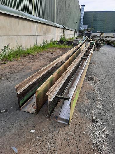 Used Heinola Scraper conveyor
