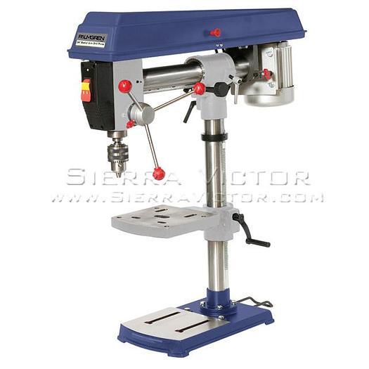 PALMGREN Bench Radial Arm Drill Press 9680341