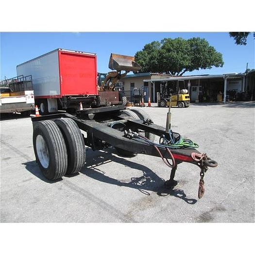 Trail Mobile Semi tow Dolly With Air Brakes