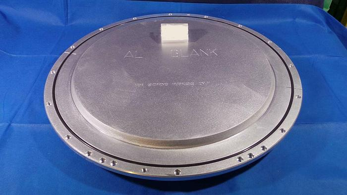 Used Applied Materials 0020-29894 Plate Backing 300mm / Chamber Plate 0020-29894 / Rev 004 ( AL Blank )