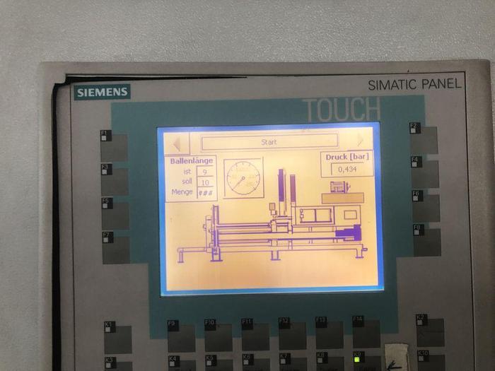 2009 FAKT Ballenpresse für Wellpappe RP 4050 V