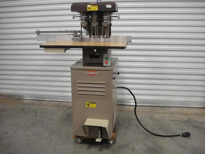 Used Challenge EH-3A Paper Drill (Brown)