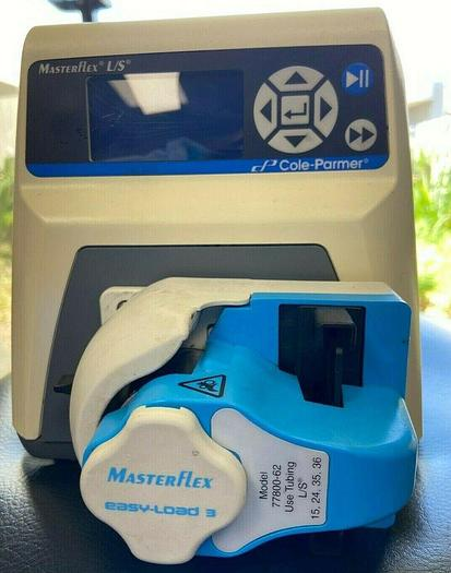 Used Cole Parmer 7523-80 Masterflex L/S Peristaltic Pump