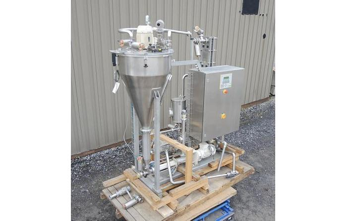Used USED FRYMA DEAERATOR, MODEL VE- II, 316 STAINLESS STEEL, SANITARY, WITH HEAT EXCHANGER