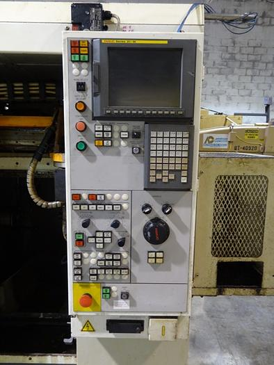 FUJI HM-30T1 SINGLE SPINDLE CNC LATHE W/GANTRY & MILLING
