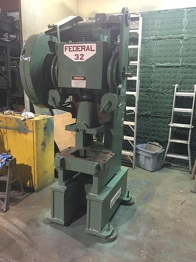 32 Ton, FEDERAL, No. 32, OBI PRESS