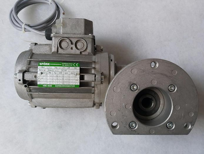 Gebraucht Winkelgetriebemotor, RMI40-N0.18/4-63B14, 17,5 U/Min., Spörk,  gebraucht-Top