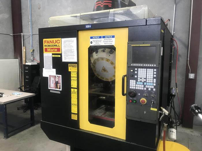Used 2007 Fanuc RoboDrill 'Mate' Drilling/Tapping Center