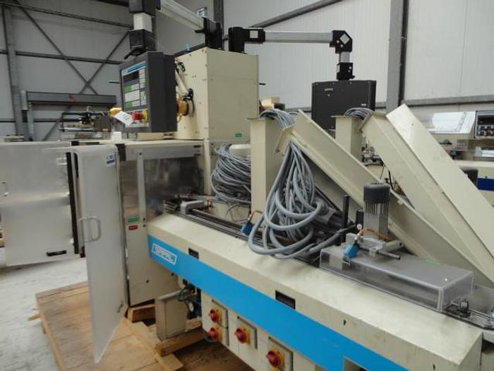 Used Sapal DPN6 high speed bunch wrapper