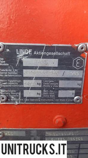 Usata 1989 LINDE H40D